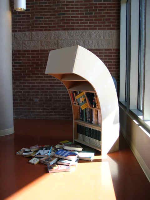 Sad-bookshelf