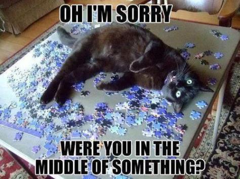 Puzzling Behaviour....